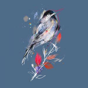 motiv-boruvkovy-ptacek-modroseda-denim